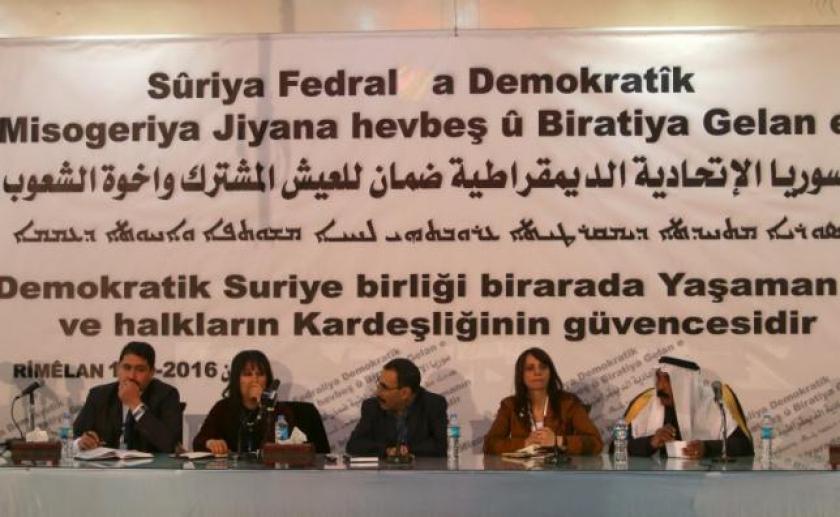 Deklaracja zamykająca konstytuantę systemu federalnego Rodżawy-Północnej Syrii